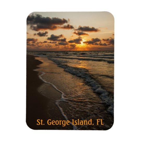SGI Beach Sunrise Magnet