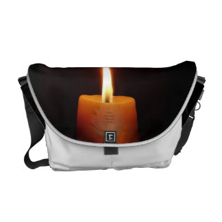 SGI Buddhist Bag with Lotus Candle and NMRK Courier Bags