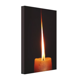 SGI Buddhist Canvas with Lotus Candle and NMRK