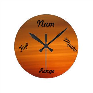 SGI Buddhist Clock - Nam Myoho Renge Kyo