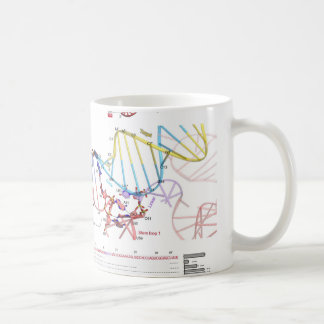 sgRNA and Its Target DNA Coffee Mug