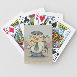 Sgt Donut Bicycle Playing Cards