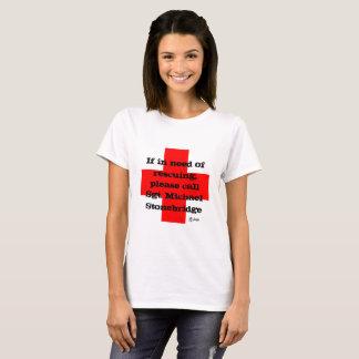 Sgt. Stonebridge Rescue Me! T-Shirt