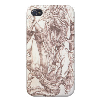 SGW Master Dali Cover For iPhone 4