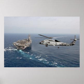 SH-60F Sea Hawk Poster