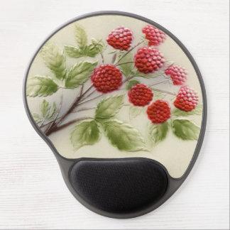 Shab-tastic Vintage Raspberries Gel Mouse Pad