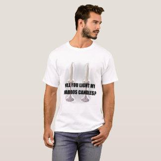 Shabbat Candles Joke T-Shirt