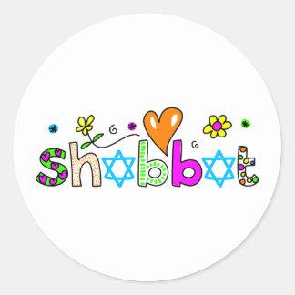 Shabbat Sticker