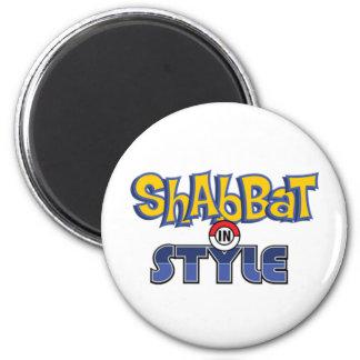 Shabbat Style Magnet