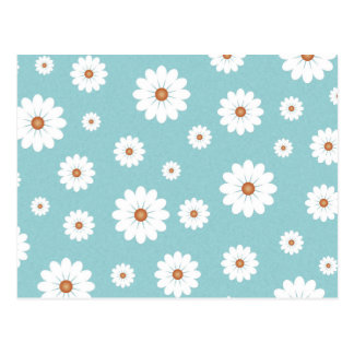 Shabby Chic Beautiful Daisy Daisies Flower Floral Postcard