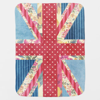 Shabby Chic | British Flag Buggy Blankets