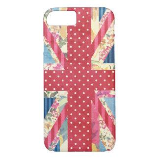 Shabby Chic | British Flag iPhone 7 Case
