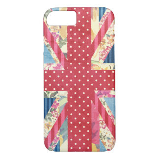 Shabby Chic | British Flag iPhone 8/7 Case