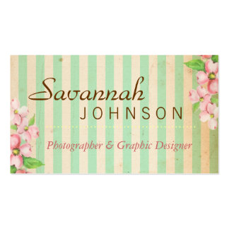 Shabby Chic Business Cards