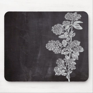 shabby chic chalkboard floral french country mouse pads