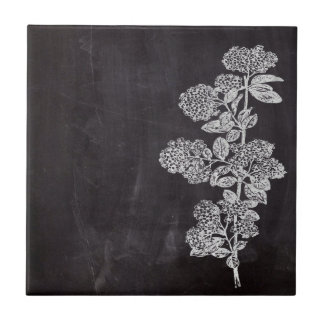 shabby chic chalkboard floral french country tiles