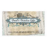 Shabby chic chandelier knitting needles yarn business card templates