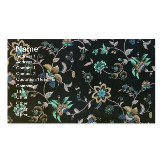 Shabby Chic Floral Business Card Templates