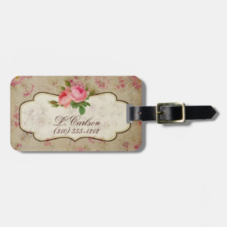 Shabby Chic Luggage Tag
