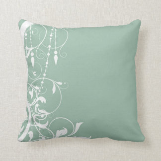 Shabby Chic Mint Pillow