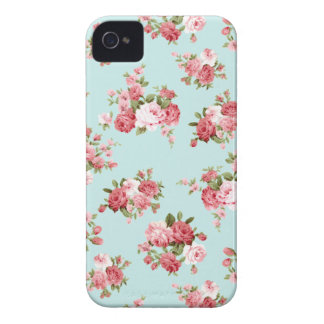 Shabby chic rose iPhone 4 Case-Mate cases