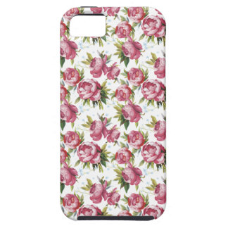 shabby chic rosebuds iphone 5 case cover