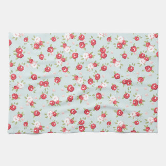Shabby Chic Roses Floral Vintage Kitchen Towel