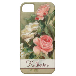 Shabby Chic roses iPhone 5 Case