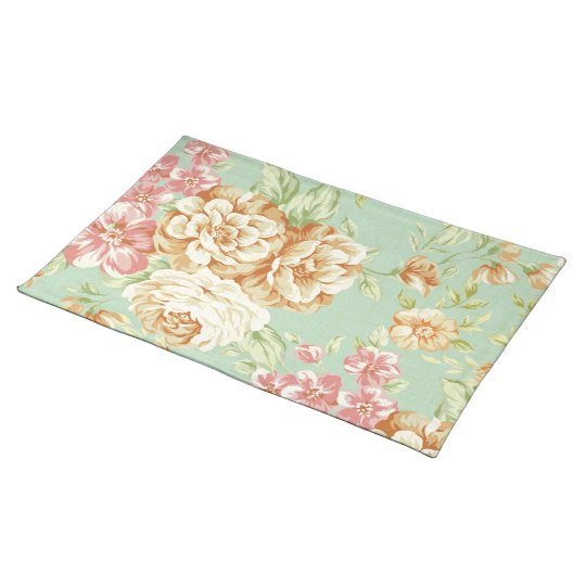 Shabby Chic Roses Place Mats