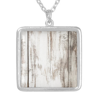 Shabby Chic Silver Plated Necklace
