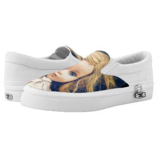 Shabby Chic Slip On Shoes