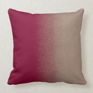 Shabby Chic Three Colour Tones Throw Pillow