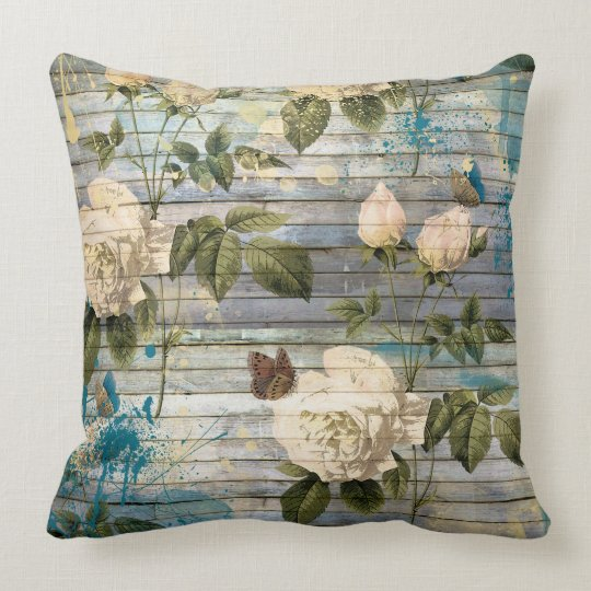 "Shabby chic Throw Pillow 20"" x 20"""