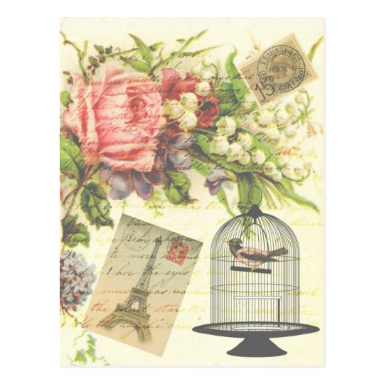 Shabby Chic vintage art Paris accessories and gift