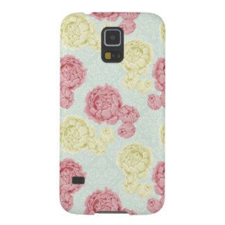 Shabby Chic Vintage Floral and Lace Samsung Case