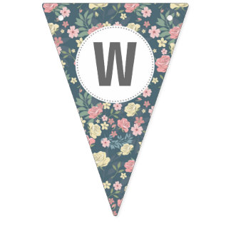 Shabby Chic Welcome Baby Banner