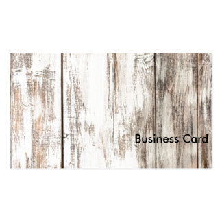 Shabby Chic - White Pack Of Standard Business Cards