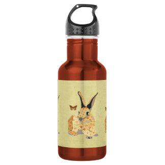 Shabby Floral Bunny  Liberty Bottle 532 Ml Water Bottle