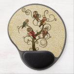 Shabby Owl Tree Mousepad Gel Mousepads
