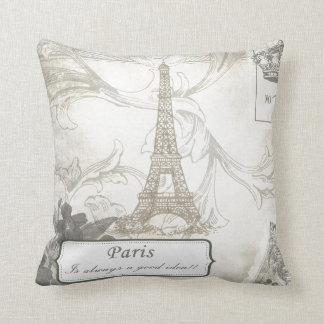 Shabby:  Paris is Always a Good Idea! Cushion