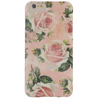 Shabby Pink Roses Barely There iPhone 6 Plus Case