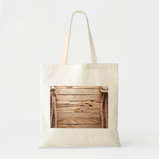 Shabby Ropes and Boards Budget Tote Bag