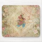 Shabby Vintage Floral Mousepad