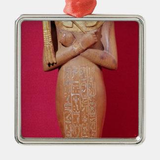 Shabti figure of king from Tomb of Tutankhamun Christmas Ornament