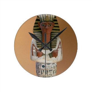 Shabti figure of Ramesses IV, New Kingdom (stuccoe Round Clock