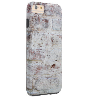 Shaby brick white painted wall tough iPhone 6 plus case