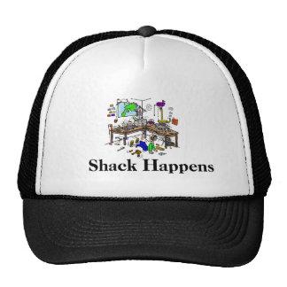 Shack Happens Funny Ham Radio Cap Mesh Hats