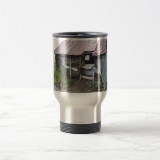 Shack In Alsaka With Sod Insulation Stainless Steel Travel Mug