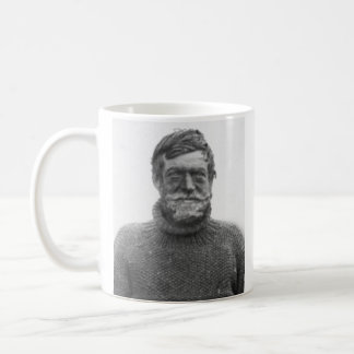 """Shackleton mug - picture and """"Difficulties"""" quote"""