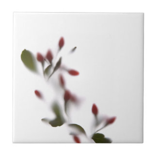 Shade flowers #2 small square tile